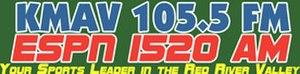 KMSR - KMAV AM/FM logo