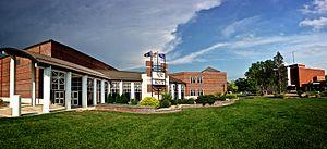 Kansas Wesleyan University - Image: KWU building