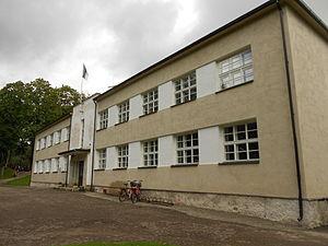 Kaali, Estonia - The village school at Kaali.