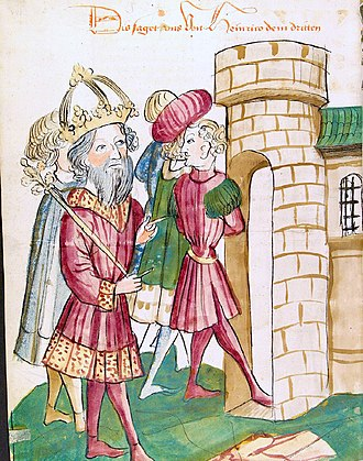 Pandulf IV of Capua - Pandulf IV being imprisoned by the emperor.