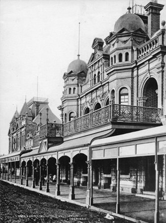 Kalgoorlie - York and Oriental Hotels, ca. 1900