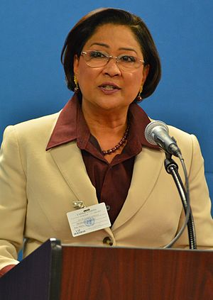 Leader of the Opposition (Trinidad and Tobago) - Image: Kamla Persad Bissesar 2013