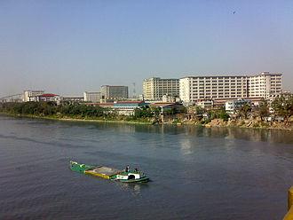 Narayanganj - Image: Kanchpur Industrial Area from Shitalaksha river view
