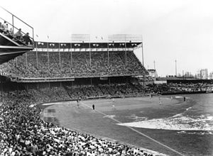 Municipal Stadium (Kansas City, Missouri) - First Athletics home game in 1955