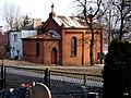 Kaplica widoczna z cmentarza przy ulicy Bohaterów w Nakle nad Notecią - panoramio.jpg