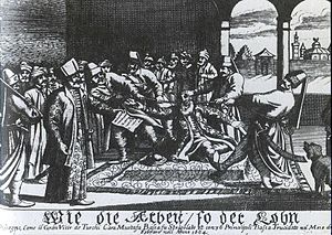 Kara Mustafa Pasha - Kara Mustafa Pasha's strangulation by a silk cord on 25 December 1683.