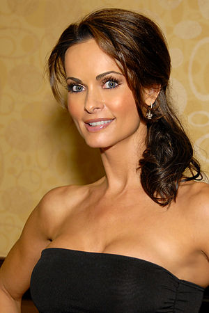 Karen McDougal - Karen McDougal in Los Angeles, on October 1, 2011