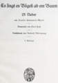 Karl Hess - Sophie Haemmerli-Marti 25 Lieder.png