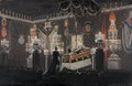 Karl XIV Johan på lit de parade, 1844 - Skoklosters slott - 99395.tif