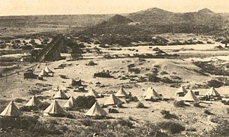 Cape Government Railways - Railway construction in the Karoo desert in the late 1870s