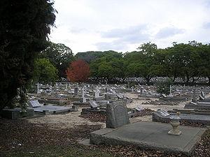 Karrakatta Cemetery - Karrakatta Cemetery grounds