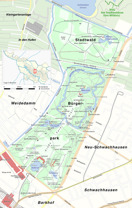 Dirne Bremen, Stadtgemeinde