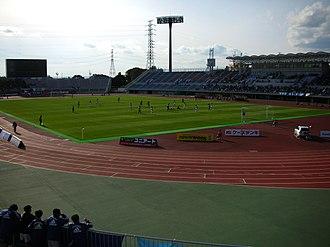 Mito HollyHock - Image: Kasamatsu Stadium