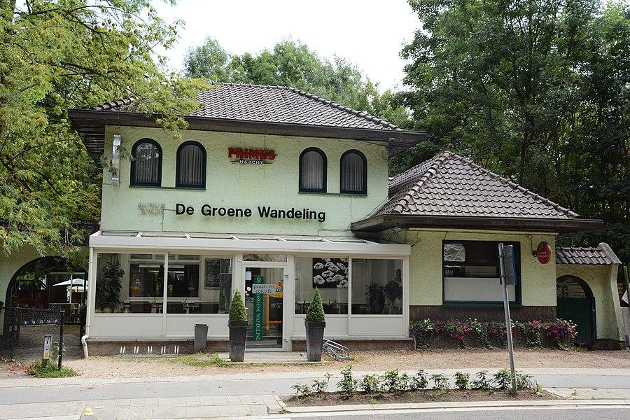 Lusthof De Populieren, thans De Groene Wandeling, Kasteelstraat 189,  Buggenhout