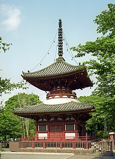 Buddhist temple in Saitama Prefecture, Japan