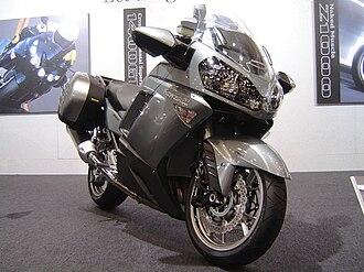 Kawasaki 1400GTR - Image: Kawasaki 1400GTR 2007TMCS