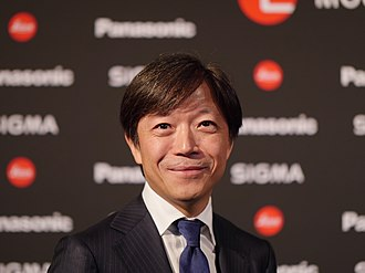 Sigma Corporation - Kazuto Yamaki (CEO of Sigma) on 25 September 2018 at photokina in Cologne