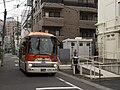 Keiobus-higashi D21068 Hachiko-Bus Haruno-Ogawa route.jpg
