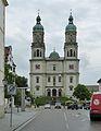Kempten, Basilika St. Lorenz, Westfassade.jpg
