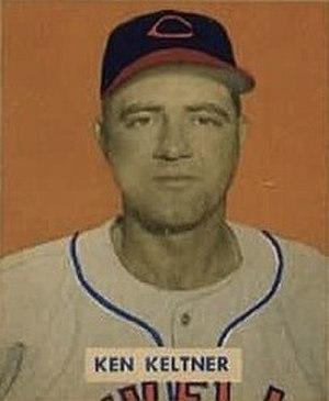 Ken Keltner - Keltner's 1949 Bowman Gum baseball card