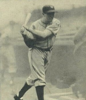 Ken O'Dea - Image: Ken O'Dea 1940 Play Ball card