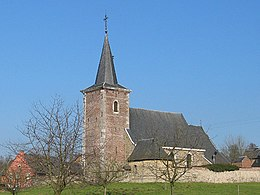 The church in Sint-Pieters-Voeren