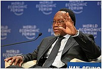 Kgalema Motlanthe, World Economic Forum 2009 Annual Meeting.jpg
