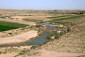 Khabur (Euphrates) - Khabur south of Al-Hasakah