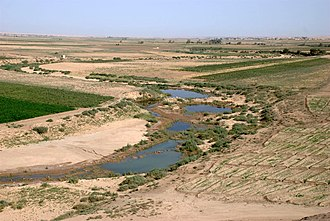 Rojava - The Khabur river, near Dūr-Katlimmu