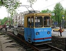Харьковский трамвай История.