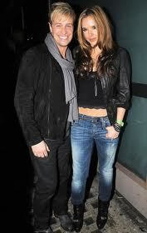 Kian Egan - Egan, left, with wife Jodi Albert