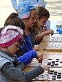 Kids Playing Checkers - Vitebsk - Belarus (27055198844).jpg