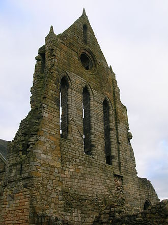 Kilwinning Abbey - Kilwinning Abbey as it stands today