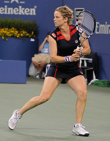 Kim Clijsters (Wikimedia Commons).