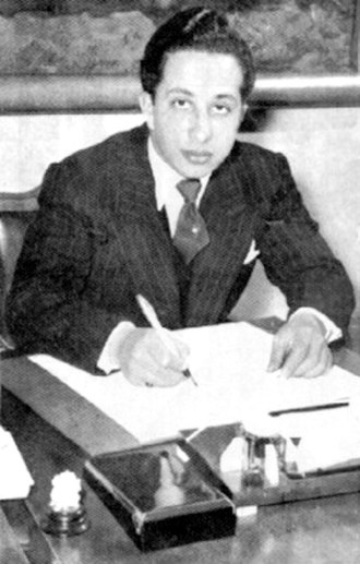 Iraq Petroleum Company - King Faisal II of Iraq who was assassinated in 1958.