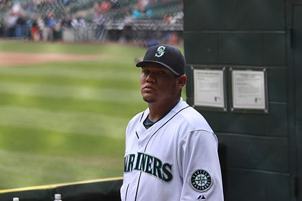 Felix Hernandez has made five All-Star appearances as a member of the Seattle Mariners. King Felix is ready (4667946841).jpg