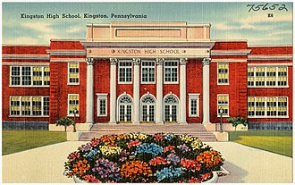 Kingston, Pennsylvania - Kingston High School