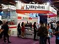 Kingston Technology booth, Taipei IT Month 20161210.jpg