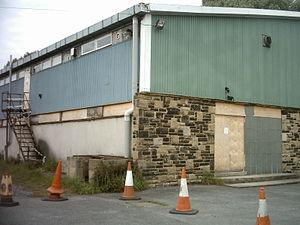 Kirk Deighton - Kirk Deighton Community Centre in 2008 (demolished in 2012)