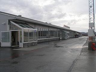 Kirkenes Airport, Høybuktmoen airport in Sør-Varanger, Finnmark, Norway