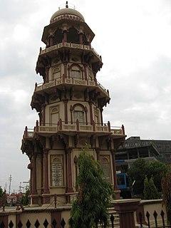 Palanpur City in Gujarat, India