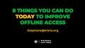 Kiwix - 8 ways to improve offline access.pdf