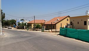 Klahim - Image: Klachim street at the moshav