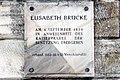 Klagenfurt Villacher Vorstadt Lendhafen Elisabeth Brücke Inschriftstein 09082008 21.jpg