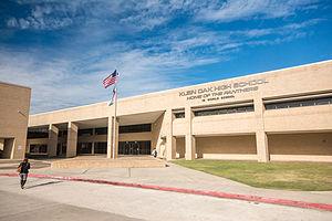 Klein Independent School District - Image: Klein ISD Klein Oak High School