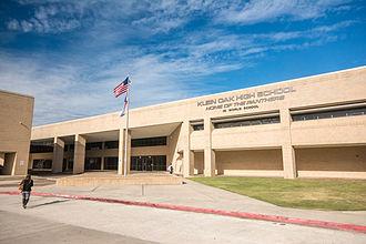Klein Oak High School - Klein Oak High School main front entrance