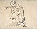 Kneeling Nude Male Figure, Facing Left MET DP807356.jpg