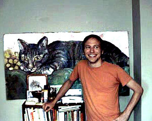 James Kochalka - James Kochalka at home in August 2000 in Burlington, Vermont