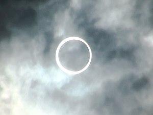 Solar eclipse of May 20, 2012 - Image: Kofu, Yamanashi, Japan, May 21, 2012 solar eclipse