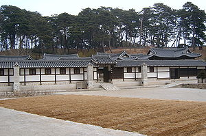 Yangban - A country house of a prominent local family in Gangneung, built in the 19th century.